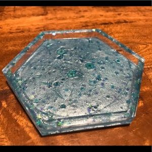 Resin trinket tray/coaster